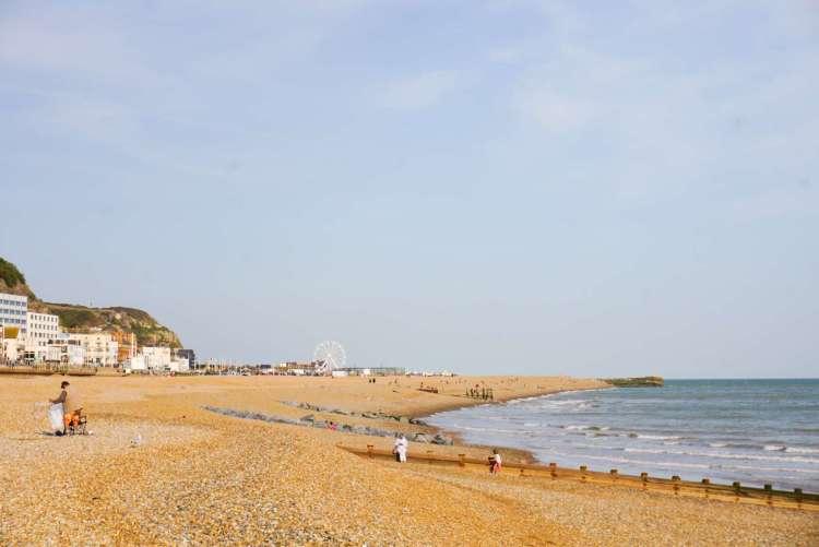 Hastings Beach - Things to do in Hastings - SecretMoona