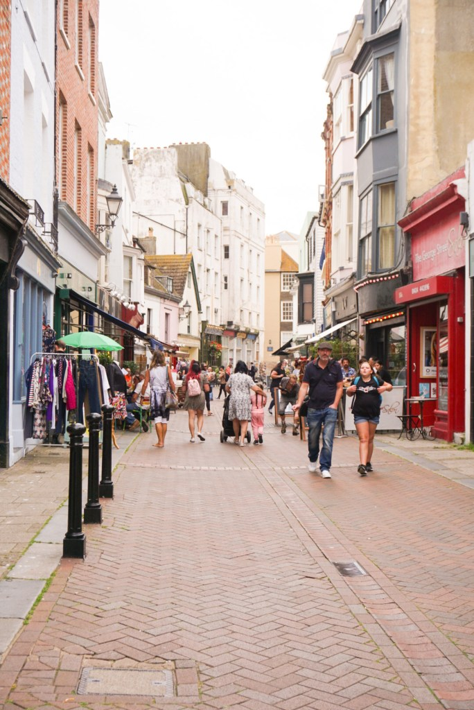 High Street in Hastings - Things to do in Hastings - SecretMoona