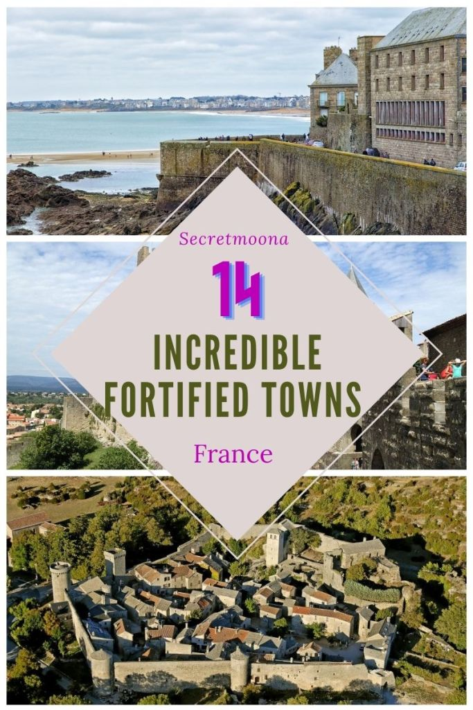 14 Incredible fortified towns in France.