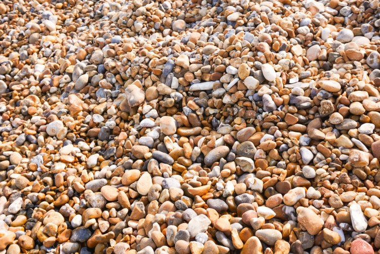 Hastings' shingle beach