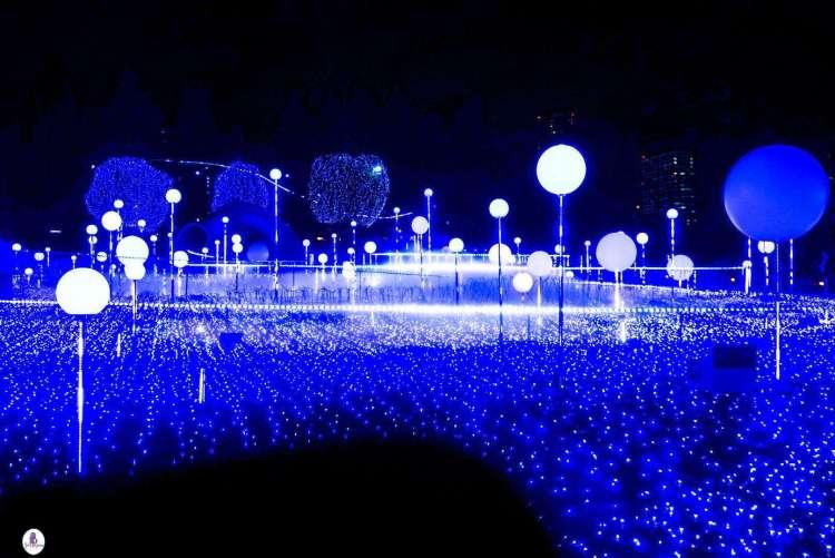 Tokyo Midtown Lights illumination
