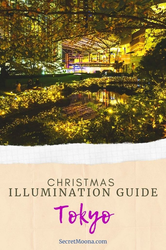 Christmas illuminations guide Tokyo