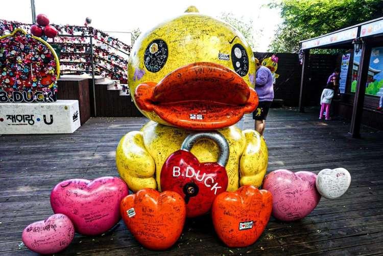 B.Duck at Namsan Tower