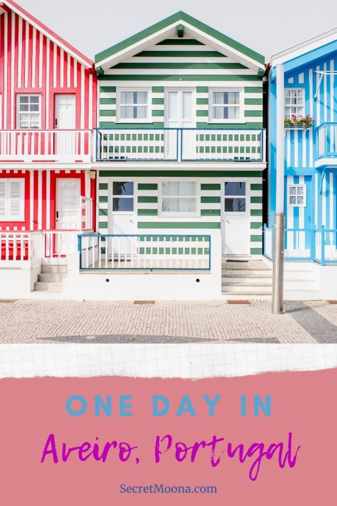How to spend one day in Aveiro, Portugal. This article will guide you to the main things to do while in Aveiro, including Costa Nova beach, Museum of Aveiro etc...