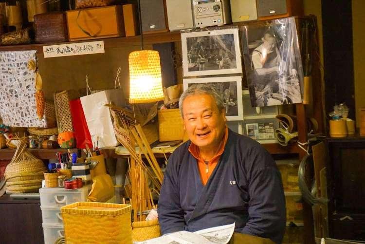 Take Kobo bamboo workshop Uchiko - Ehime - Shikoku Island