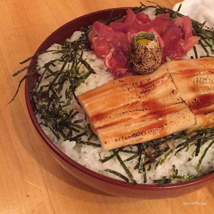 Kaisendon, a fresh seafood selection on rice