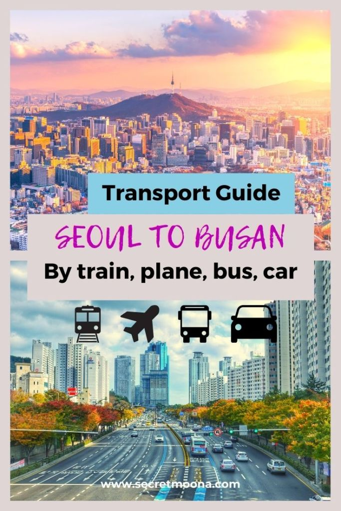 Transport guide: Seoul to Busan by train, plane, bus and car. Heading to Busan and wondering how to go to Busan from Seoul? This guide offers the best method including how to buy KTX train ticket, KORAIL Pass, schedules, prices...