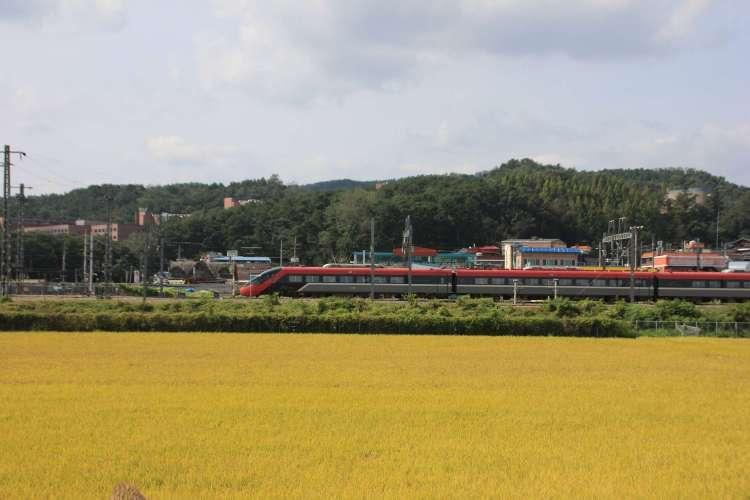 ITX Saemaeul train from Seoul to Busan