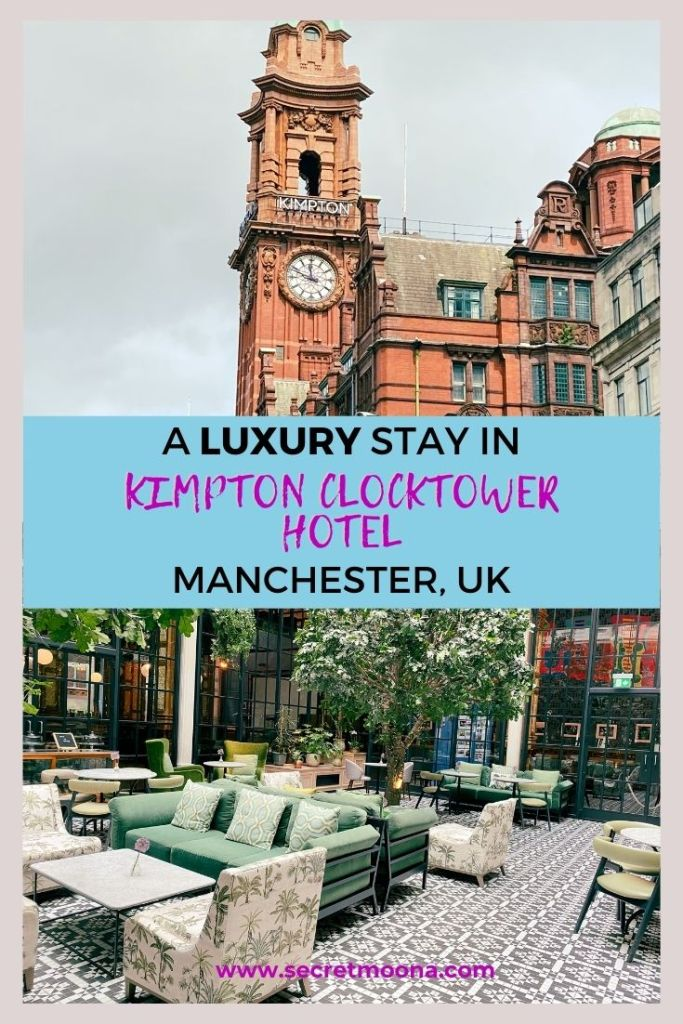 Here's my review of the Kimpton Clocktower Hotel, rebranded from Principal Manchester by its new owners IHG. It is a stylish and impressive hotel with a recognisable terracotta facade and clock tower.