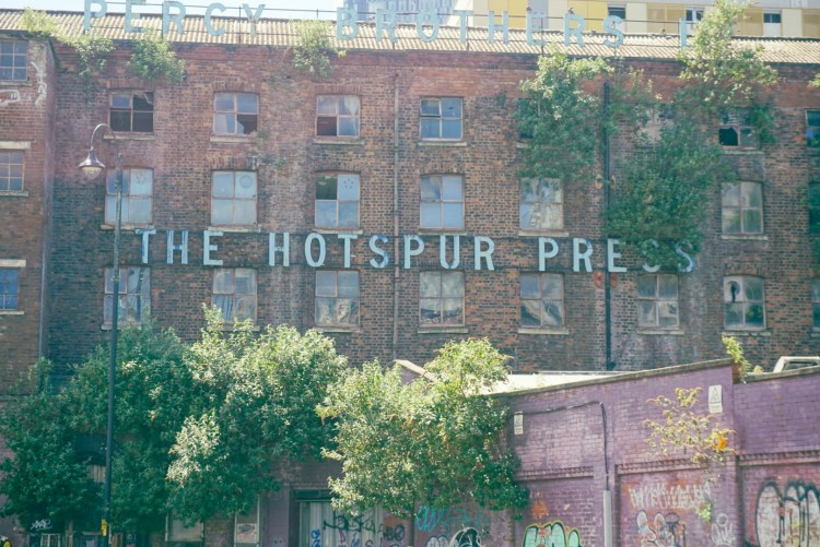 The Hotspur Press building in Manchester