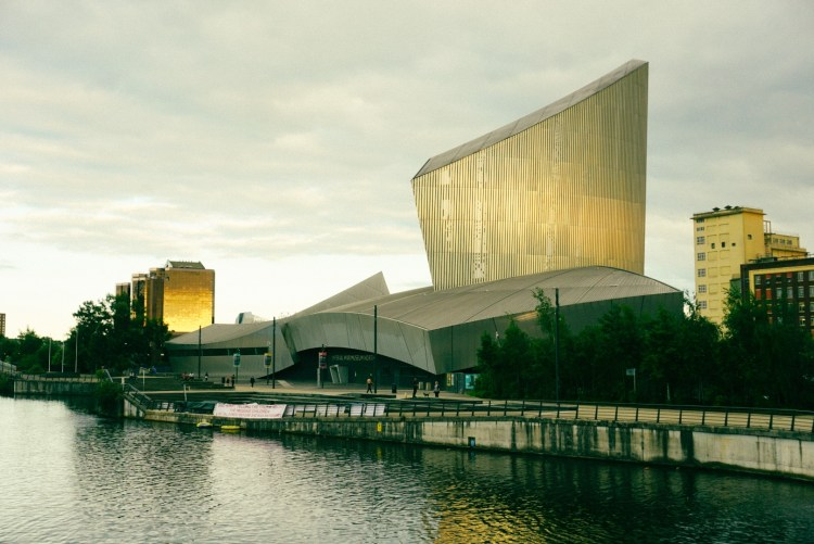 Imperial War Museum North in Manchester, UK