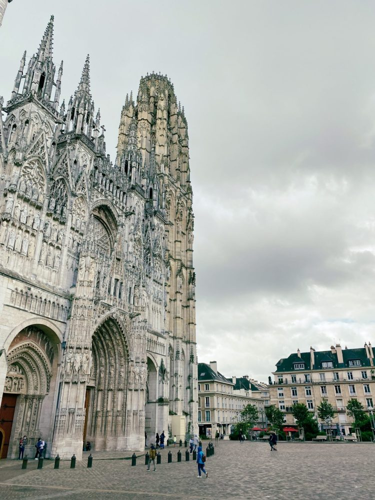 The stunning Cathedral of Notre-Dame of Rouen