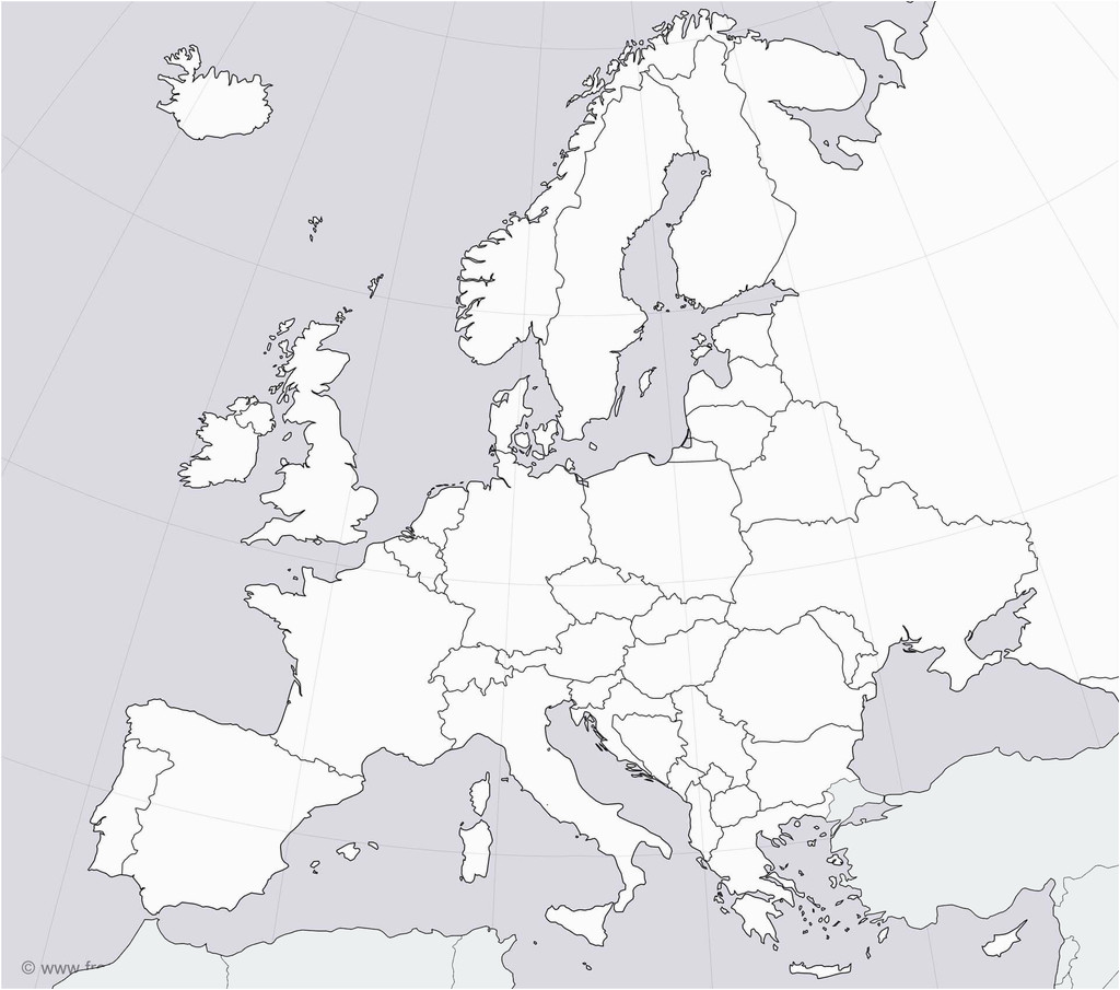 Study Map Of Europe 36 Intelligible Blank Map Of Europe