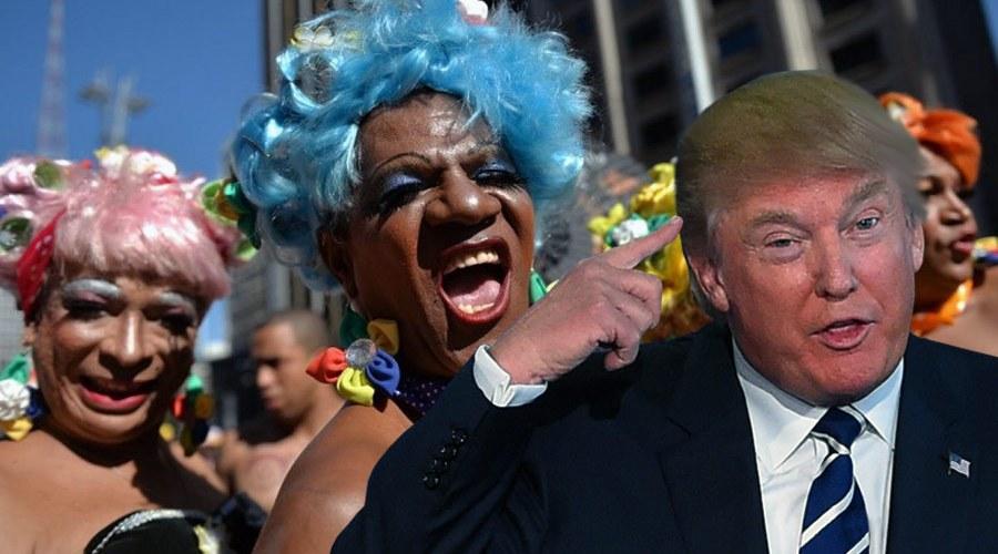 Hacking : Donald Trump filmé à Moscou en pleine partouze avec des transsexuels mexicains