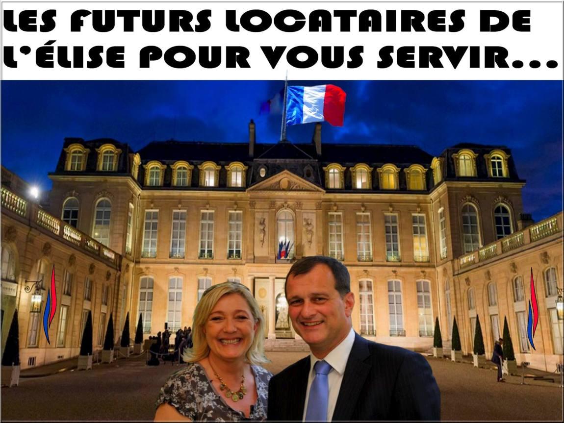 montage-Marine-Le-Pen-11 TOP 50 des plus beaux montages photos de Marine Le Pen : Il y a du talent au FN !