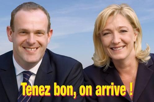 montage-Marine-Le-Pen-20 TOP 50 des plus beaux montages photos de Marine Le Pen : Il y a du talent au FN !