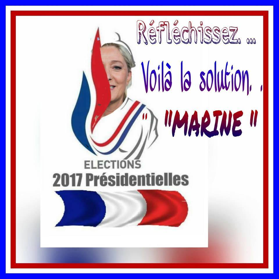 montage-Marine-Le-Pen-21 TOP 50 des plus beaux montages photos de Marine Le Pen : Il y a du talent au FN !