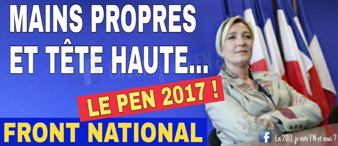 montage-Marine-Le-Pen-25 TOP 50 des plus beaux montages photos de Marine Le Pen : Il y a du talent au FN !