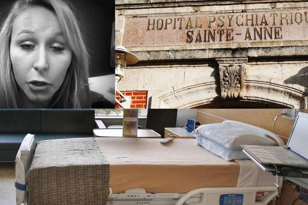 Marion Maréchal Le Pen internée de force en psychiatrie à l'hôpital Sainte-Anne – Surmenage ? Dépression ?