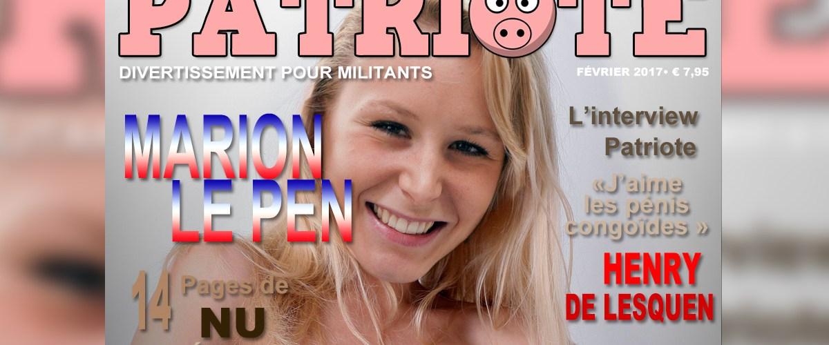 PATRIOTE : premier numéro du magazine militant - Marion Le Pen en cover (PHOTOS)