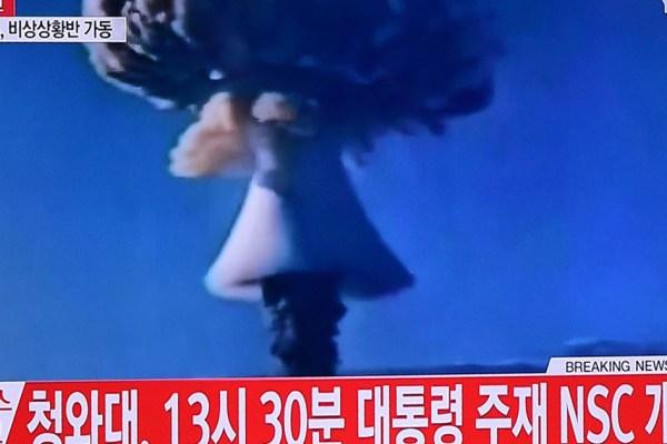 FLASH INFO : Plusieurs bombardements atomiques en Israël –  La Corée du Nord revendique cet acte de guerre