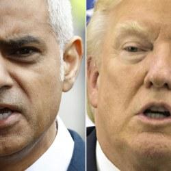 """""""Arrête de foutre la merde, gros débile !"""" - Le maire de Londres répond à Donald Trump"""
