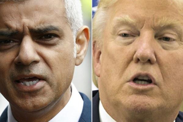 """""""Arrête de foutre la merde, gros débile !"""" – Le maire de Londres répond à Donald Trump"""