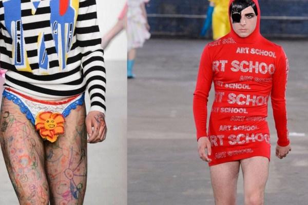 Messieurs, la mode se fout de votre gueule  ! Best Of de la fashion week 2017 (Véridique)