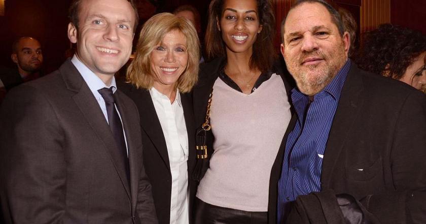 Emmanuel Macron reçoit Harvey Weinstein à l'Élysée pour parler de la moralisation de la société