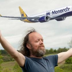 """Sylvain Durif, alias """"Le Grand Monarque"""" rachète la compagnie """"Monarch Airlines"""" déclarée en faillite"""