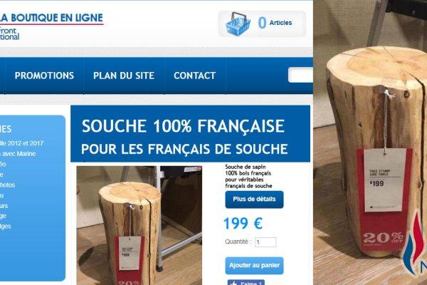 Français de Souche : Profitez des souches 100% françaises en promotion sur la boutique du Front National