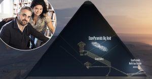 La cavité découverte dans la Pyramide de Khéops louée par les insoumis Corbière et Garrido pour 75€ par mois