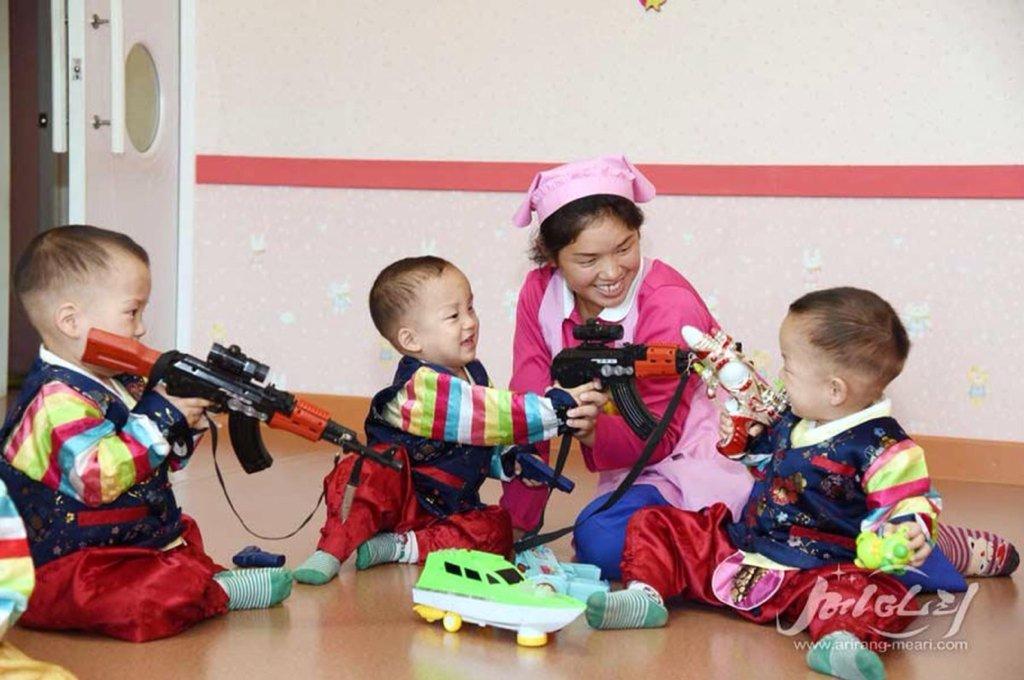 DSpfiZ_X0AA_rzf-1024x680 Corée du Nord : un bataillon d'élite de jeunes enfants formés pour assassiner Donald Trump