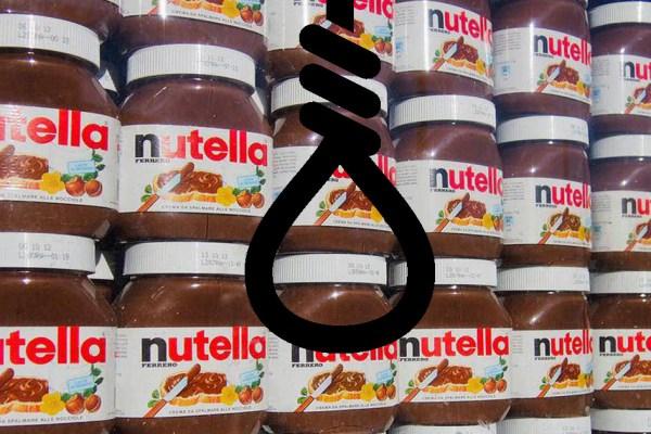 Nutella : 27 personnes se sont suicidées car elles n'ont pas eu leur pot a 1,40€ chez Intermarché