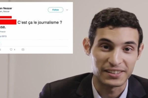 Rayan Nezzar, porte-parole d'En Marche, atteint du syndrome Gilles de la Tourette