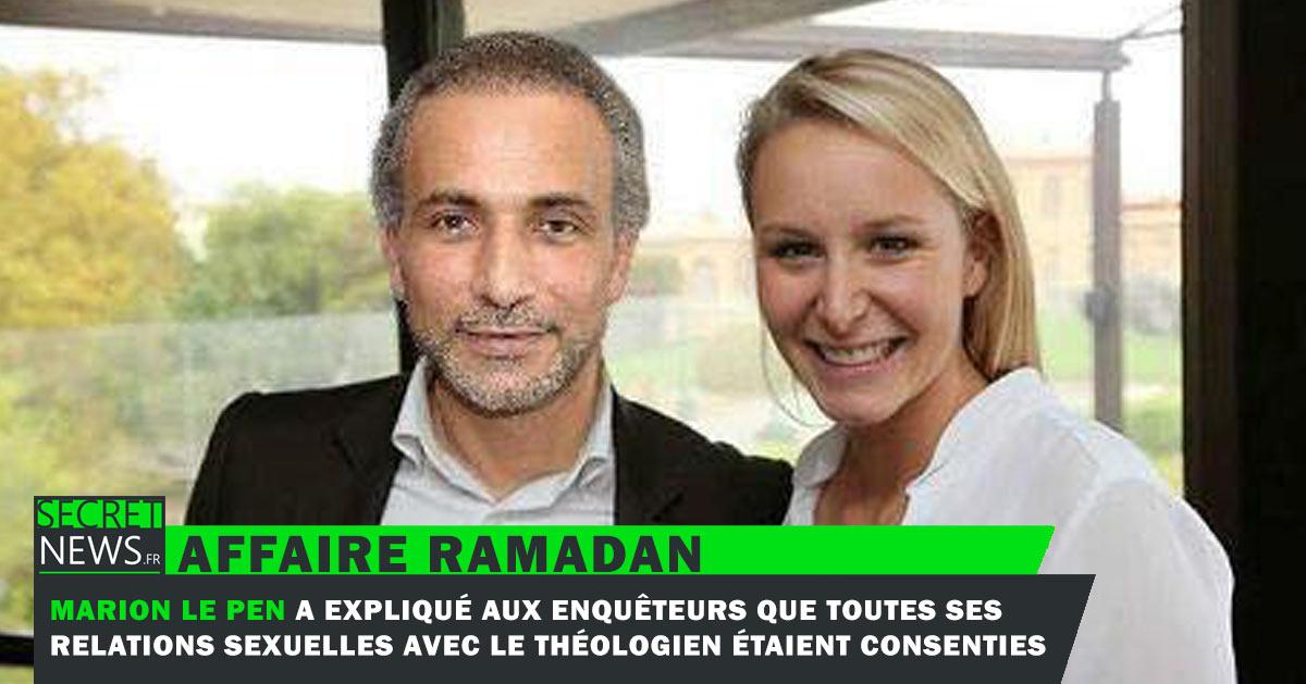 tariq-ramadan-marion-le-pen A la demande de Tariq Ramadan, Marine Le Pen endossera à nouveau sa robe d'avocate pour défendre l'islamologue