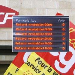 En raison de problèmes techniques, la grève SNCF prévue le 22 mars arrivera vers le 24 juillet