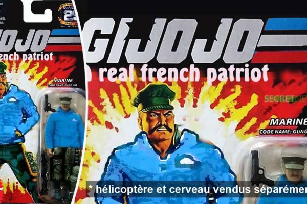 GI JoJo : les patriotes légendaires de Génération Identitaire vendus en figurines Martel™