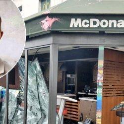 Un enfant détruit un McDonald's car il n'a pas eu de jouet dans son Happy Meal