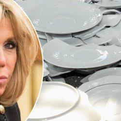 Grosse dispute des Macron à l'Élysée : Brigitte casse 50 assiettes pour une valeur de 20 000 euros