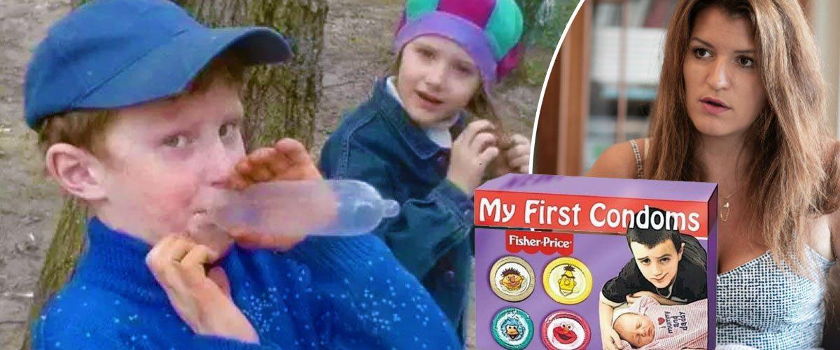 Marlène Schiappa veut distribuer des préservatifs « taille enfant » dans les écoles primaires