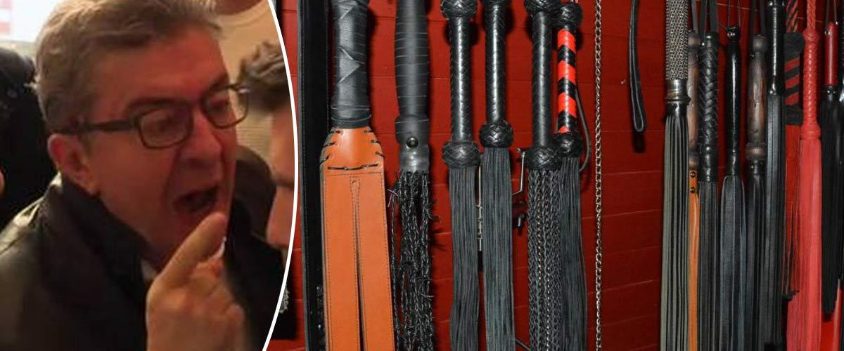 Insoumis, sauf au lit : du matériel BDSM découvert lors de la perquisition chez Jean-Luc Mélenchon
