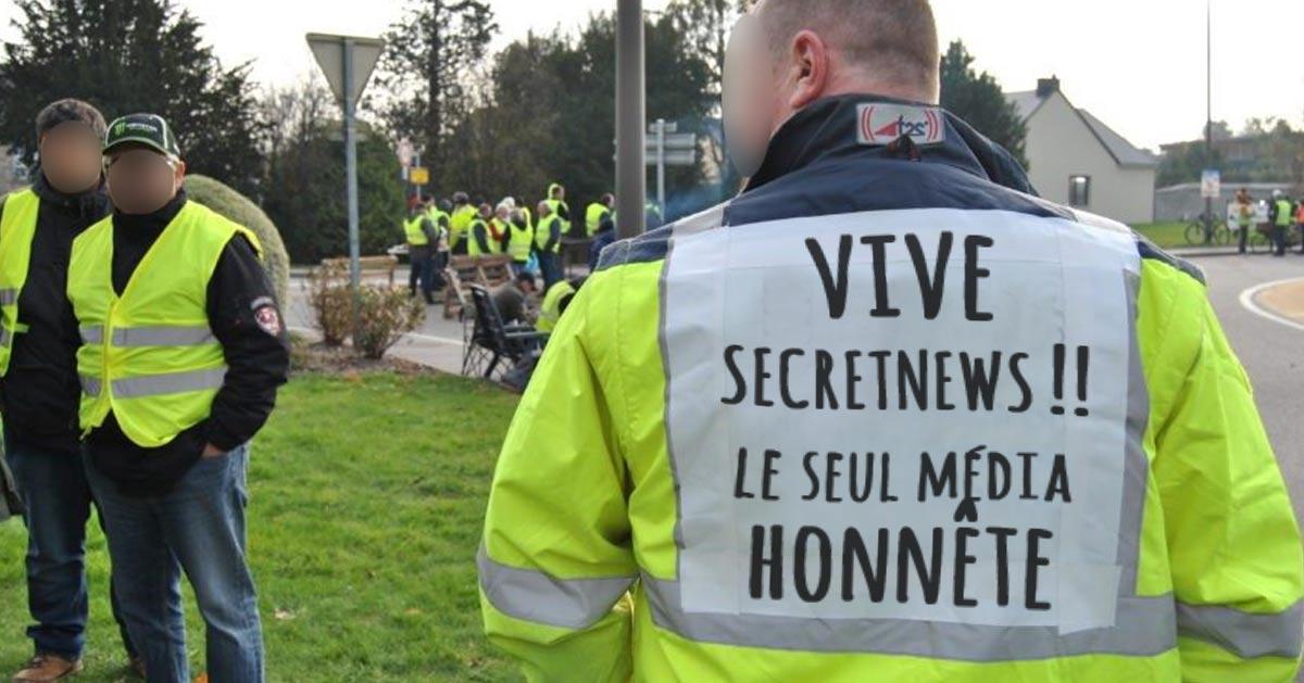 Rejoignez SecretNews sur Facebook !