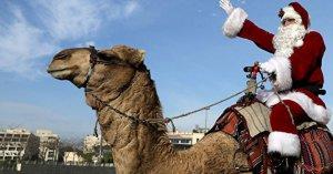 Pacte de Marrakech : le Père Noël livrera ses cadeaux en chameau