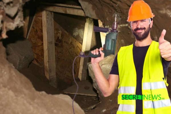 """""""En Creuse on creuse"""" – Pour atteindre l'Élysée, des Gilets Jaunes creusent un tunnel depuis 15 jours"""