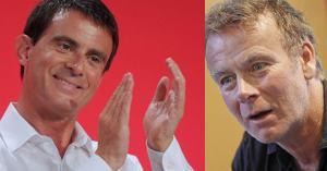 """""""On doit avoir le même tailleur"""" – Manuel Valls félicite Franck Dubosc pour son retournement-de-veste"""