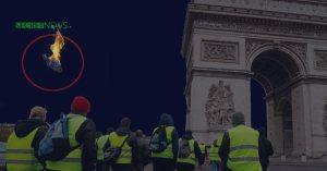 Benjamin Griveaux exfiltré : les Gilets Jaunes abattent l'hélicoptère du porte-parole en fuite