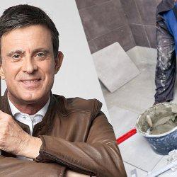 Manuel Valls place du carrelage pour financer sa campagne à Barcelone