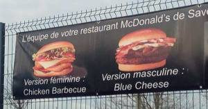 Il change de sexe pour pouvoir déguster un Chicken BBQ chez McDonald's