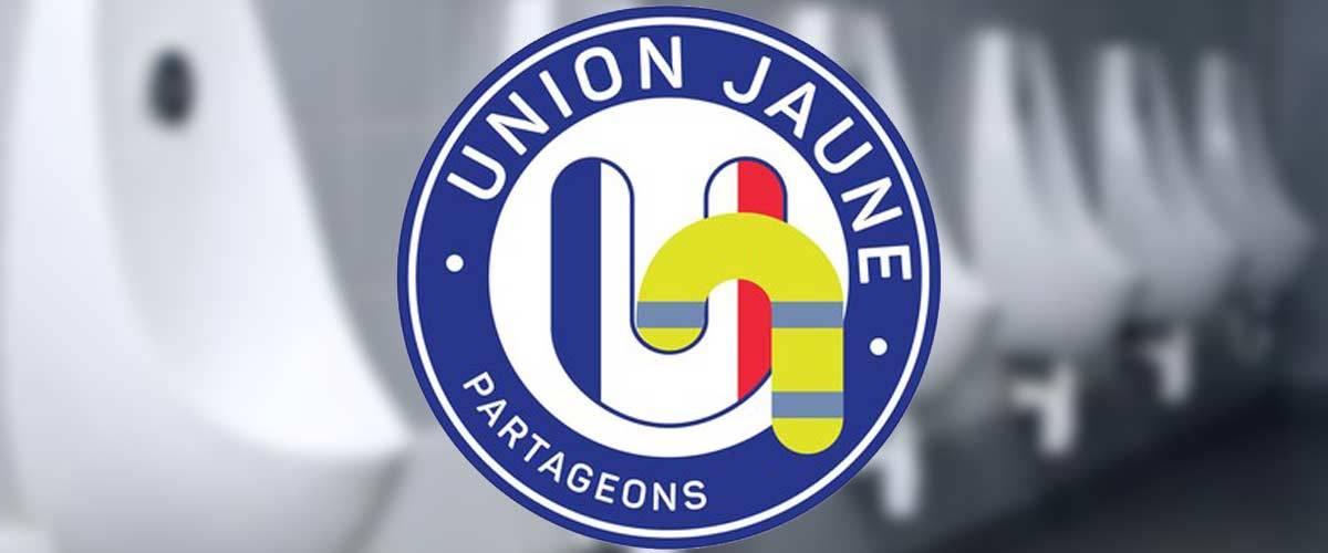 86% des gens qui regardent le logo de l'Union Jaune sont pris d'une envie d'uriner